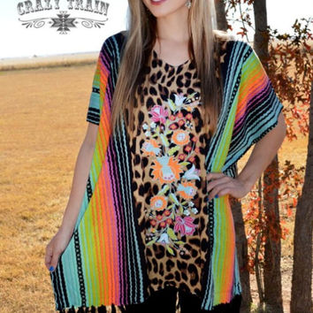 Serape Serena Poncho by Crazy Train