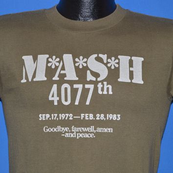 80s M*A*S*H 4077th Final Episode t-shirt Small