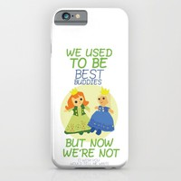 we used to be best buddies, but now we're not...(I wish you would tell me why?) iPhone & iPod Case by Studiomarshallarts
