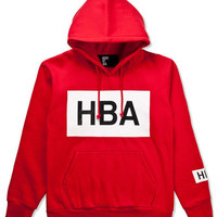 HOOD BY AIR B&W HOODIE BY HBA-RED AUTHENTIC - A Very Based You