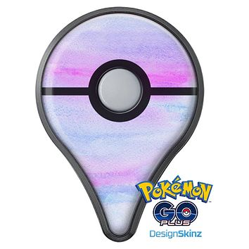 Tie Dyed Absorbed Watercolor Texture Pokémon GO Plus Vinyl Protective Decal Skin Kit
