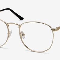 St Michel | Golden Metal Eyeglasses | EyeBuyDirect
