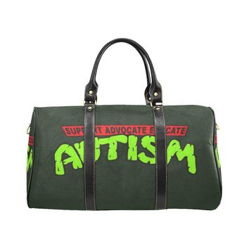 Autism Design 30 Travel Bag Black