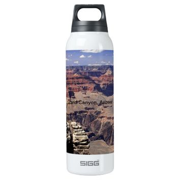 Grand Canyon, Arizona 16 Oz Insulated SIGG Thermos Water Bottle