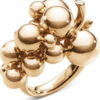 GEORG JENSEN - Moonlight Grapes 18ct rose-gold and diamond ring | Selfridges.com