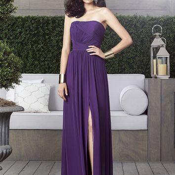 Dessy Collection Lux Chiffon Long Dress 2910