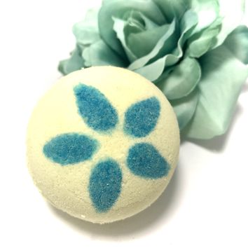 Tropical Plumeria Bath Bomb with a Surprise Inside