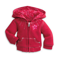 American Girl® Clothing: Silver Stitch Hoodie For Dolls