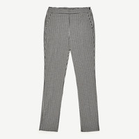 TROUSERS WITH SMALL CHECKS DETAILS