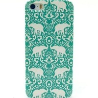 Mint Elephante iPhone Case