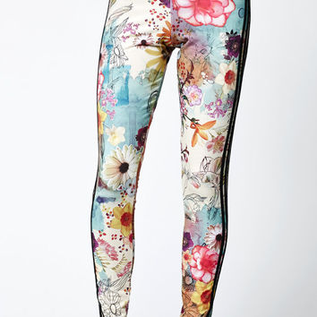adidas Farm Confetti 3-Stripes Leggings at PacSun.com
