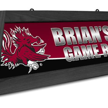 South Carolina Gamecocks Custom Pool Table Light