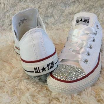 ICIKGQ8 bling crystal converse