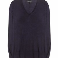 Elwood cashmere and silk-blend sweater