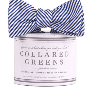 CG Stripes Bow in Navy by Collared Greens