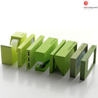 Lexon - Buro 7pcs Office Set Green | Panik Design