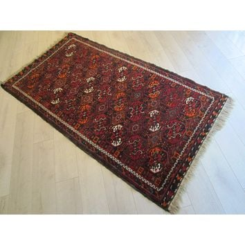 Persian Art Rug Transitional Pile of Wool Imported Southern Region