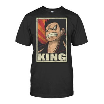 One Piece - Luffy King -Men Short Sleeve T Shirt - SSID2016