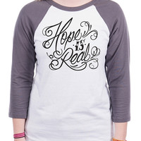 To Write Love on Her Arms Official Online Store - Forever Baseball Tee