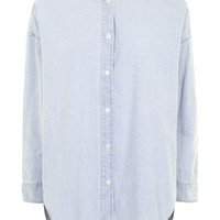 MOTO Denim Shirt - Denim - Clothing