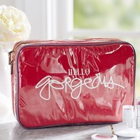 HELLO GORGEOUS ULTIMATE COSMETIC BAG