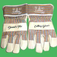 GLOVES. Personalized Printed Gloves With Your Name, Message. Custom Protective Gloves. Personalised Safety Gloves. Custom Garden Gloves