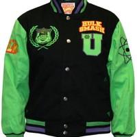 Hulk Smash Varsity Jacket