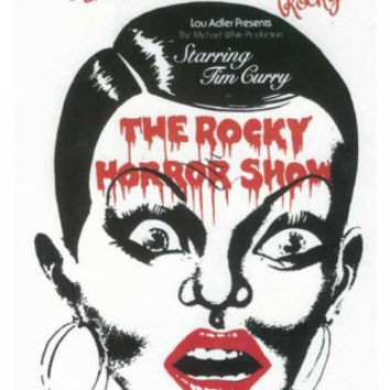 Rocky Horror Show, The - Broadway Poster , 1975