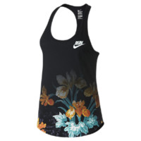 Nike Photosynthesis Women's Running Tank Top Size Large (Black)