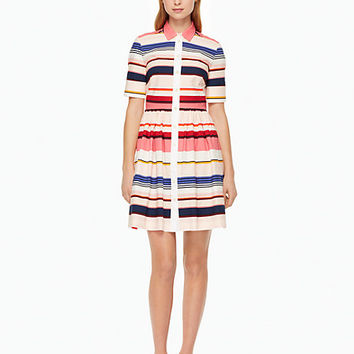 berber stripe shirtdress