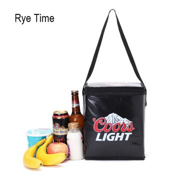 2017 new branded thermal picnic cooler lunch bag insulated cool shoulder bags ice pack thermo lunch box bag car food fresh bags