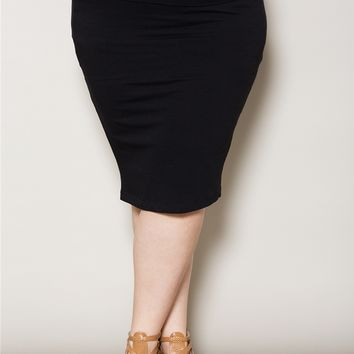 Plus Size Skirts | Fawn Midi Skirt | Swakdesigns.com
