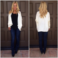 All Fall Down Knit Cardigan - IVORY