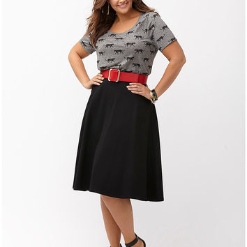 Ponte circle skirt by Lane Bryant | Lane Bryant