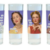 Anne Taintor - Barware - Shot Glasses