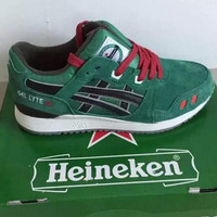"""ASICS GEL LYTE ""TRENDING Sneaker running shoes  Sports Shoes dark green"