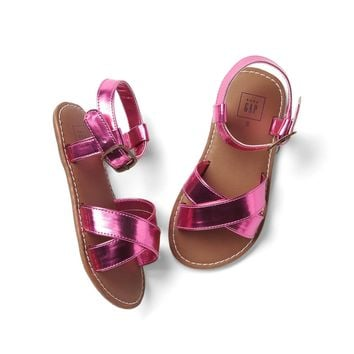 Shine crisscross sandals | Gap