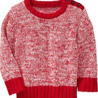 Old Navy Button Shoulder Sweaters For Baby