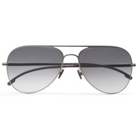 Mykita Bo Lightweight Stainless Steel Aviator Sunglasses | MR PORTER