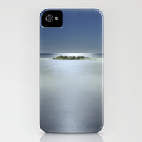 The rock island under de moonlight iPhone Case by Guido Montañés | Society6
