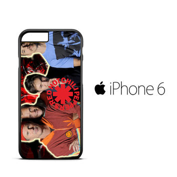 red hot chili peppers Z2358 iPhone 6 Case