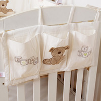 Cotton Hanging Crib Toy Storage by Baby in Motion