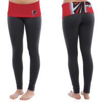 Atlanta Falcons Women's Sublime Knit Legging – Black