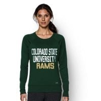 Under Armour Women's Colorado State UA Long Sleeve Crew