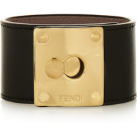 Fendi | Leather cuff | NET-A-PORTER.COM