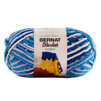 Bernat Blanket Brights Yarn Waterslide 300 Gram Skeins