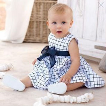 Hot Retail Newborn Baby Girl Dress Summer Style Baby Girl Clothes Above Knee Baby Dress for Girls Vestido Infantil