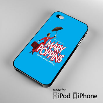 Mary Poppins Broadway Musical A0677 iPhone 4 4S 5 5S 5C 6, iPod Touch 4 5 Cases