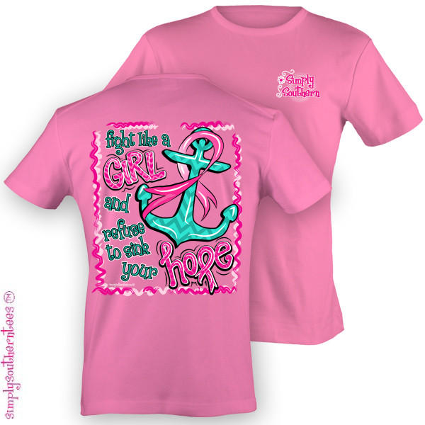 Simply Southern Funny Anchor Breast From Simply Cute Tees