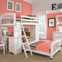 Summit Twin Size Student Loft Bed